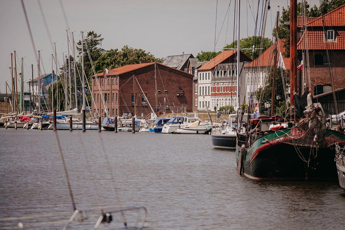 Glückstadt Hafenbecken