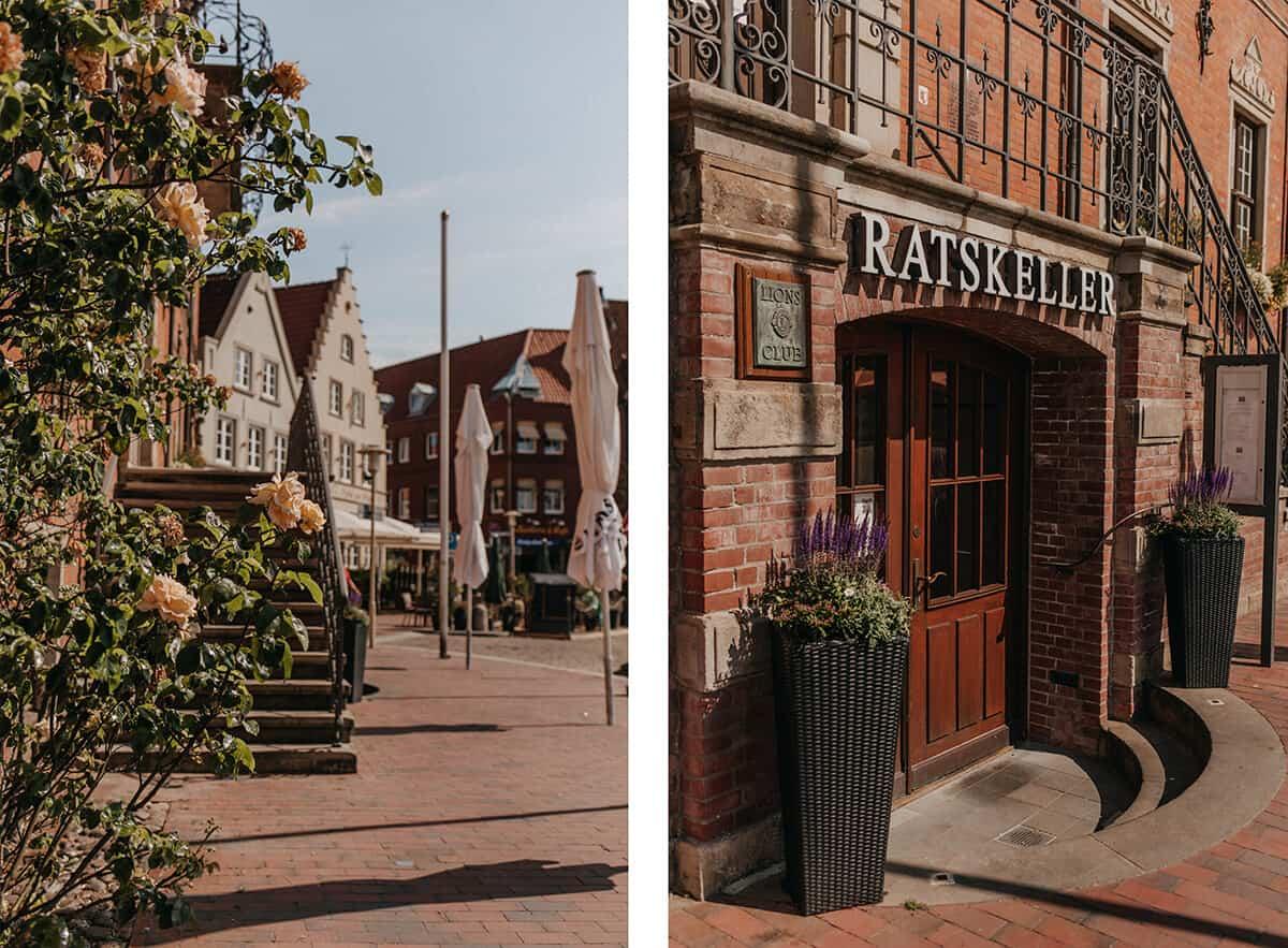 Rathaus und Ratskeller Glückstadt