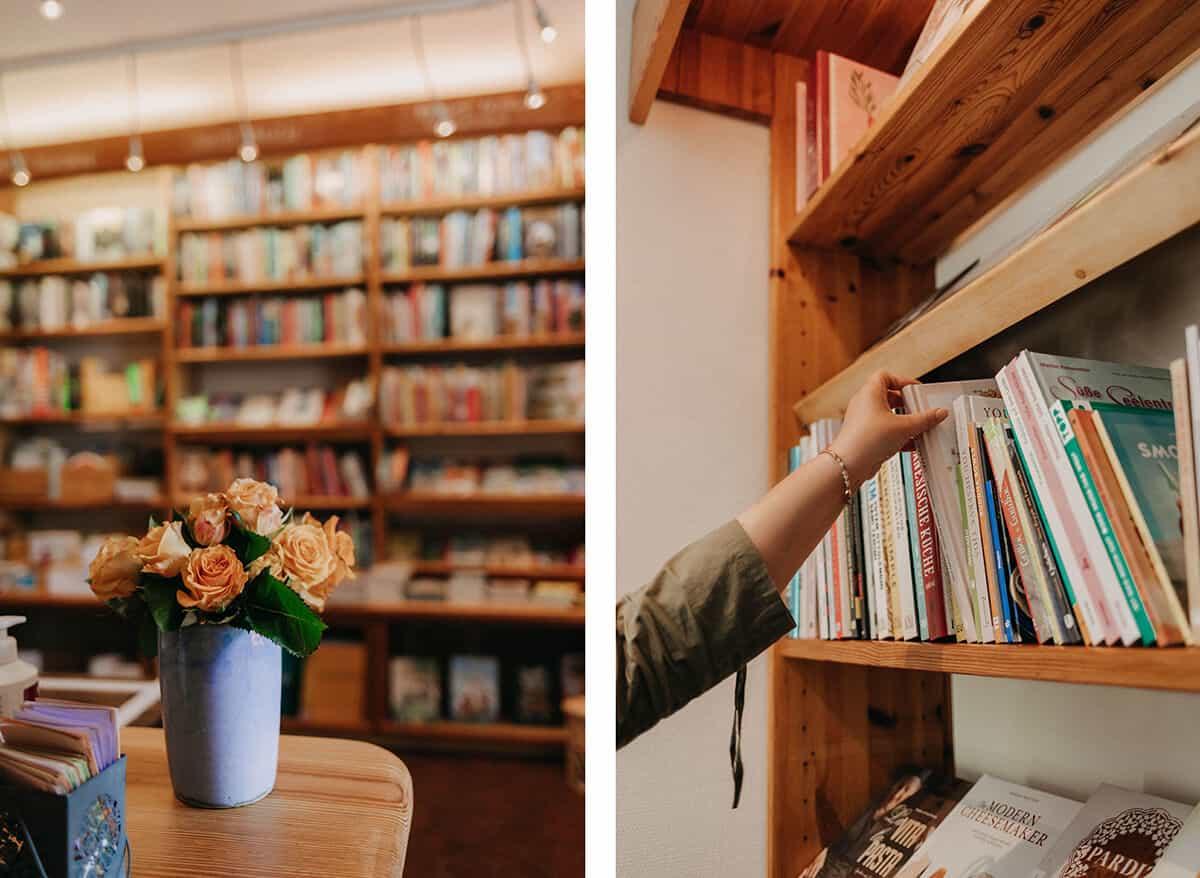 Innenraum Bücherstube Glückstadt