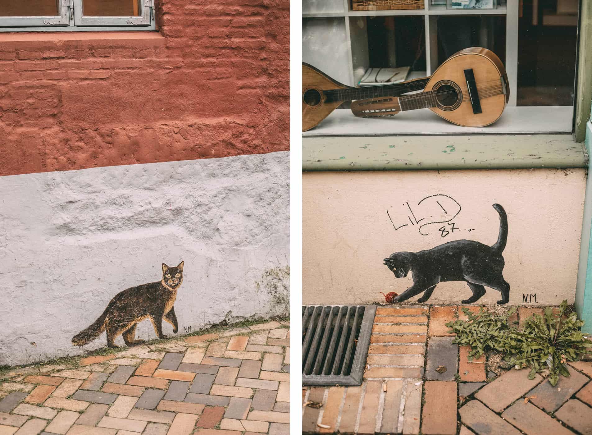 Ein Tagesausflug nach Flensburg: Kunst, Katzen