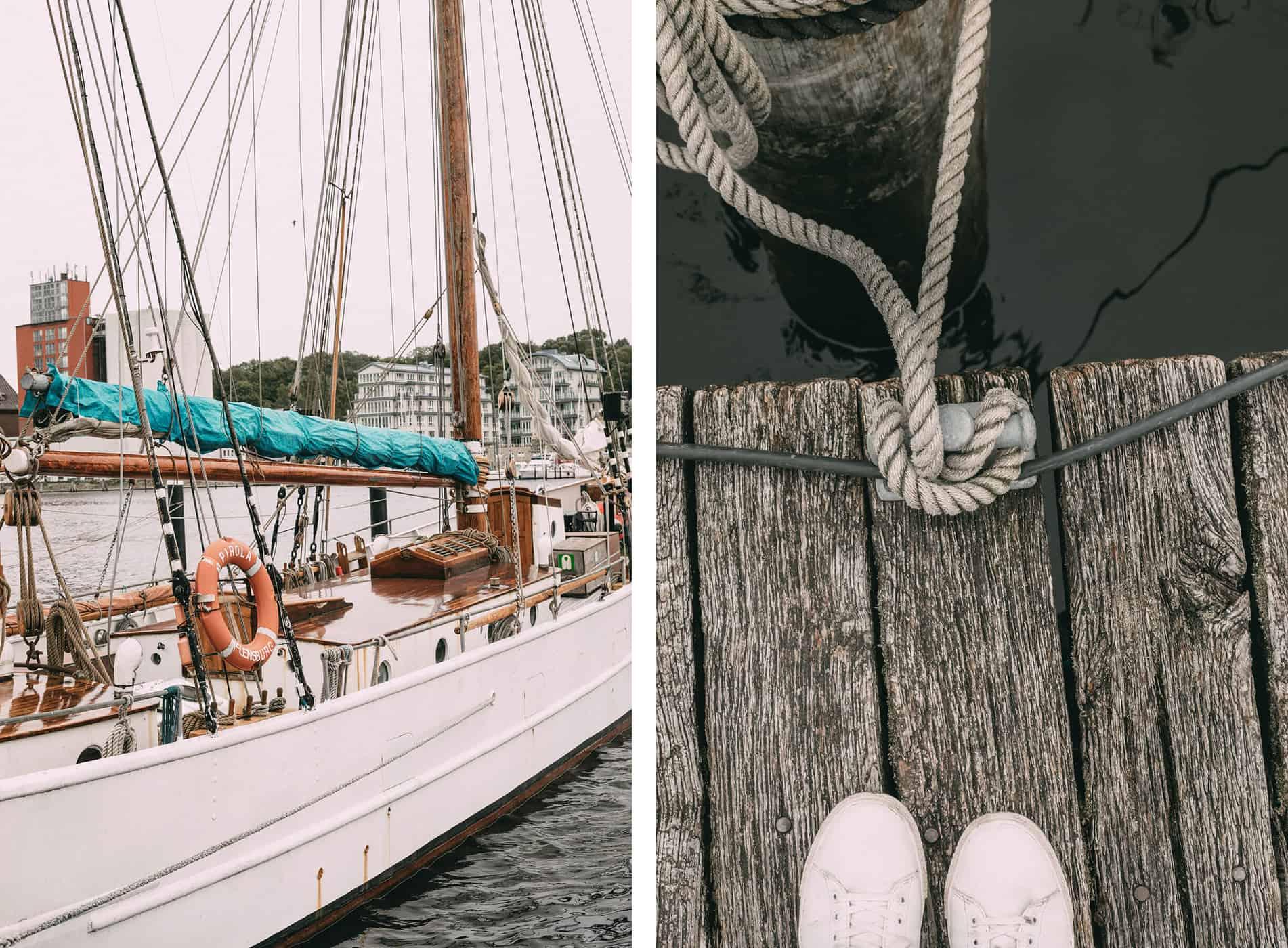Ein Tagesausflug nach Flensburg: Hafen