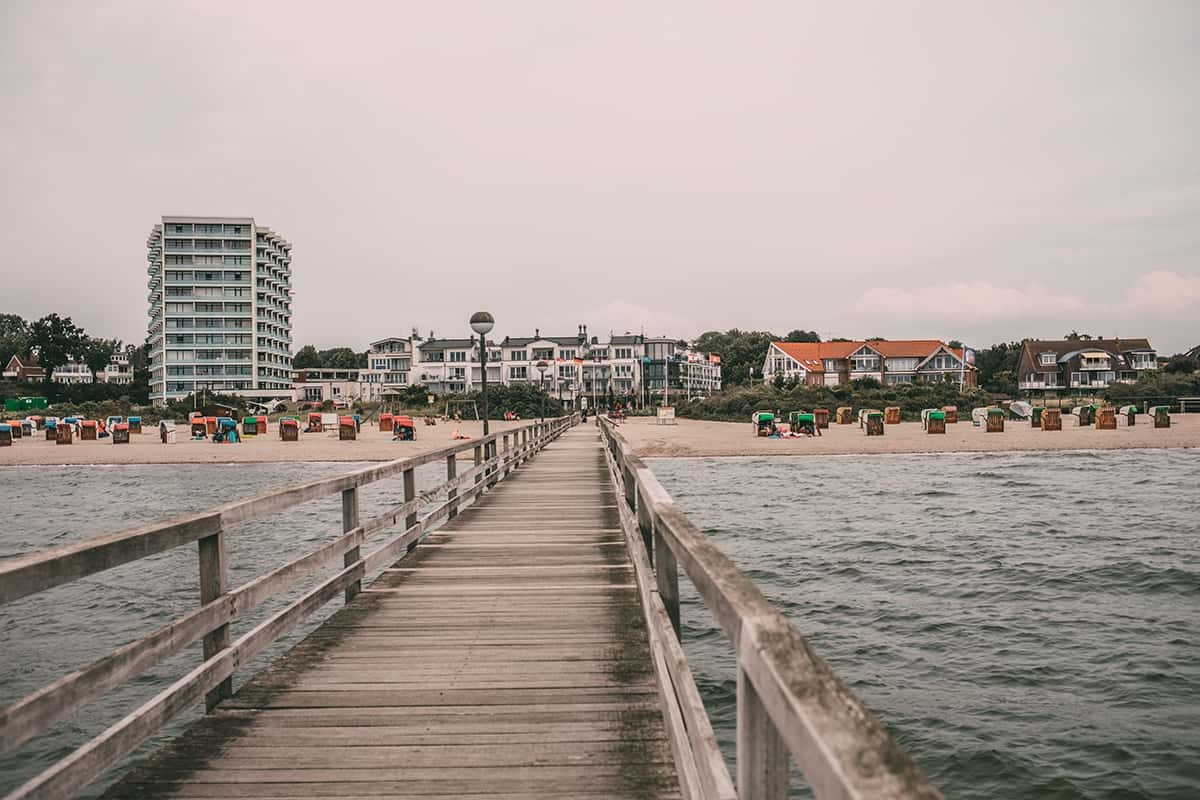 Der Strand in Pelzerhaken