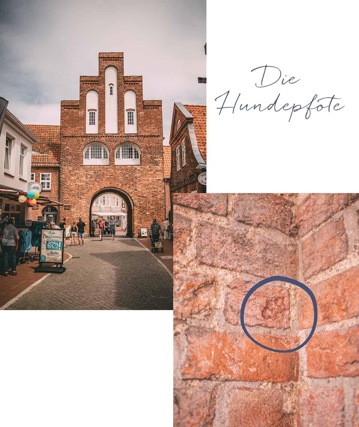 Das Kremper Tor in Neustadt