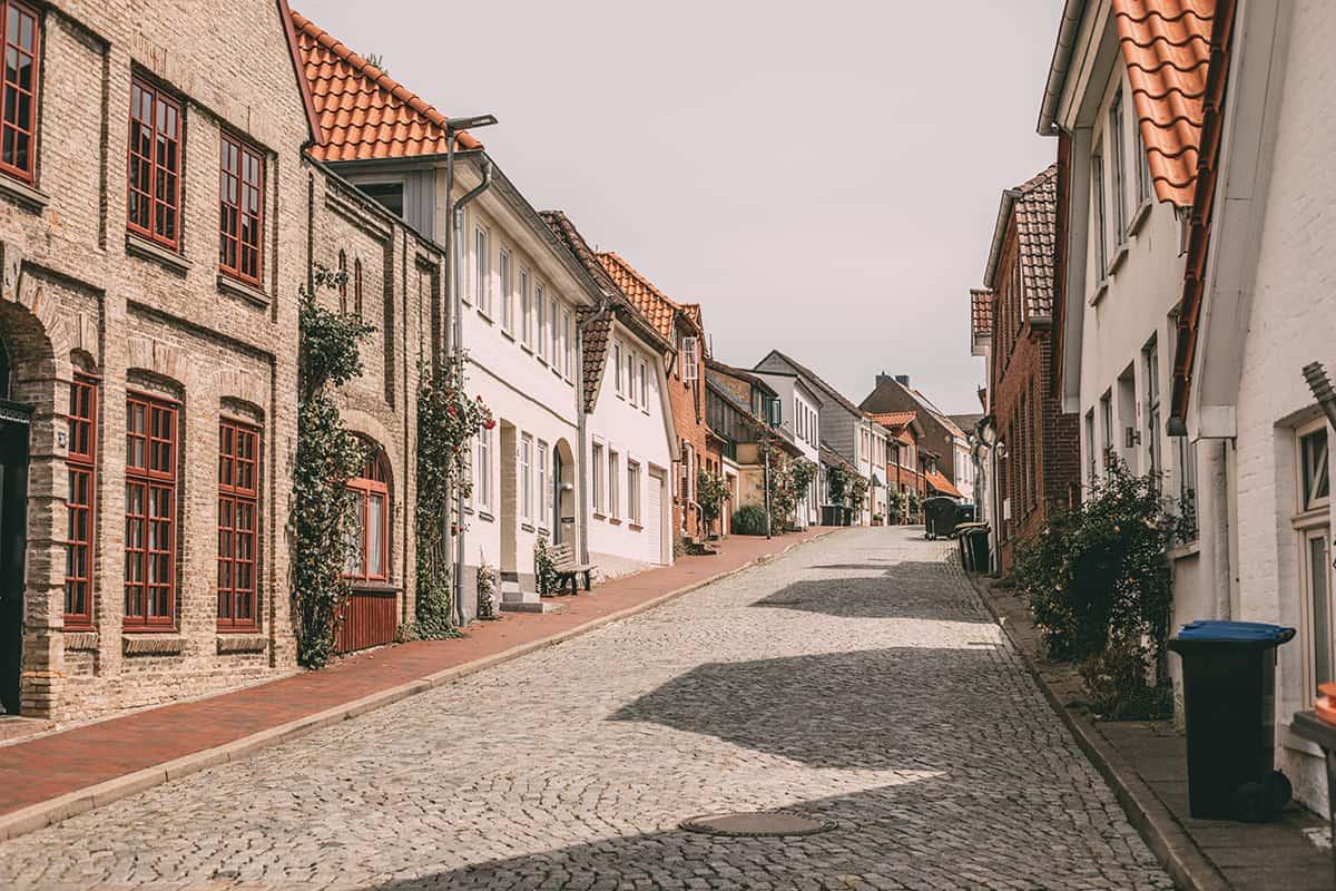 Die Altstadt in Neustadt