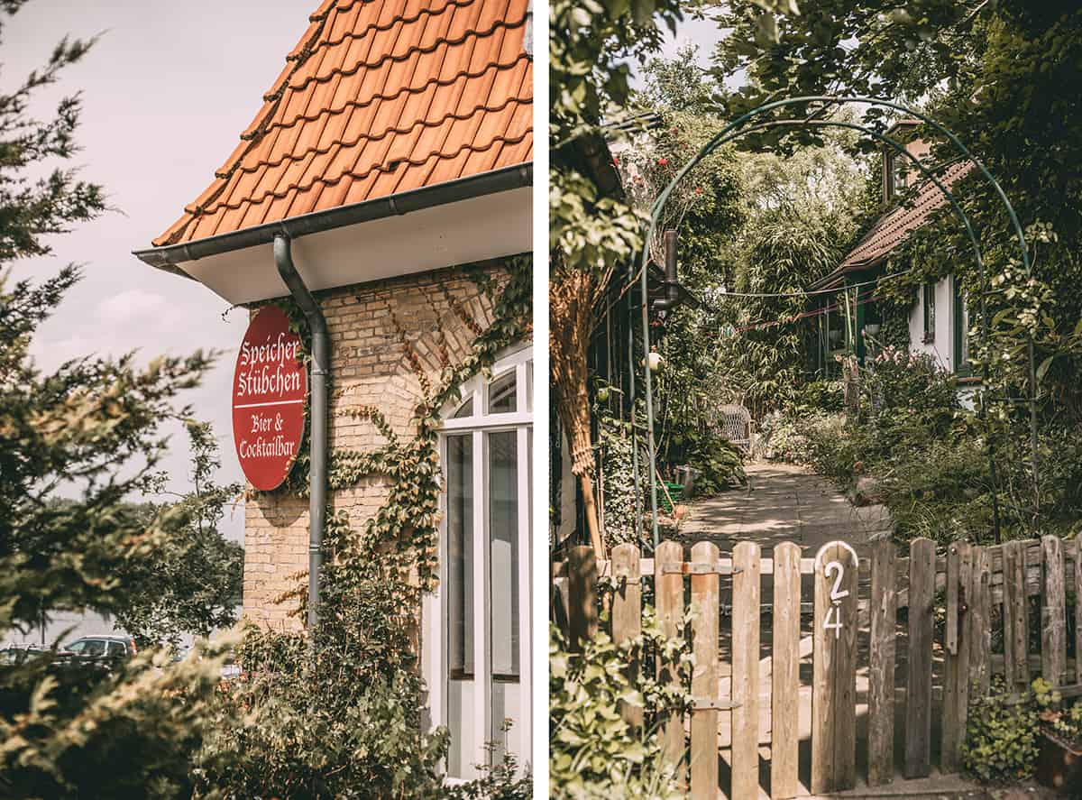 Bewachsene Häuser in Neustadt