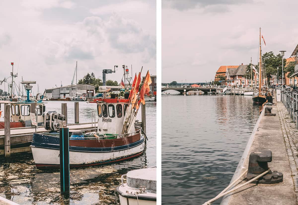 Der Hafen von Neustadt