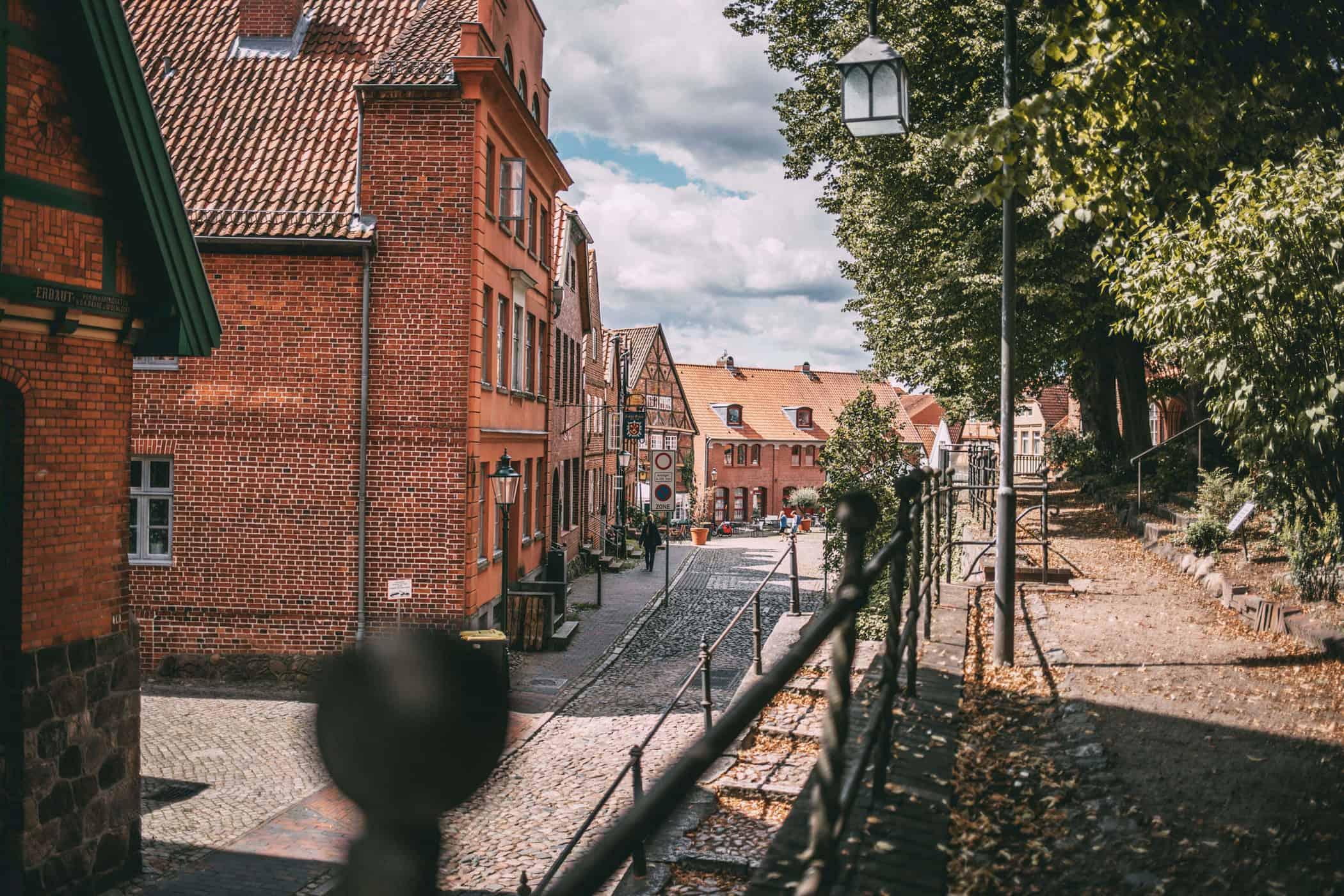 Ausblick Kirche Mölln
