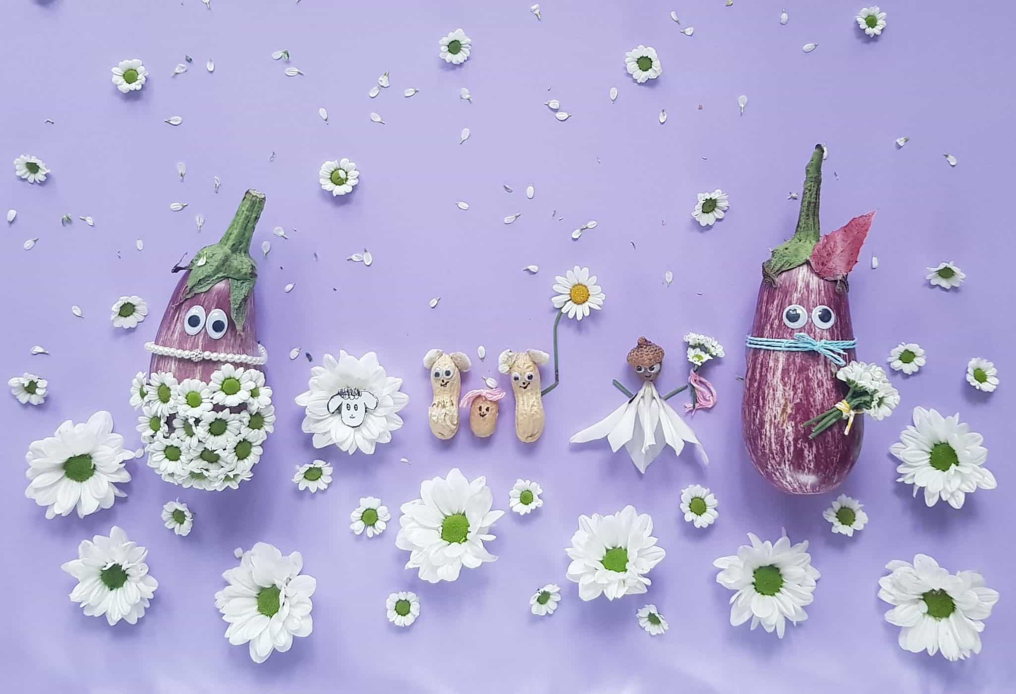 Smettikage: Auberginen