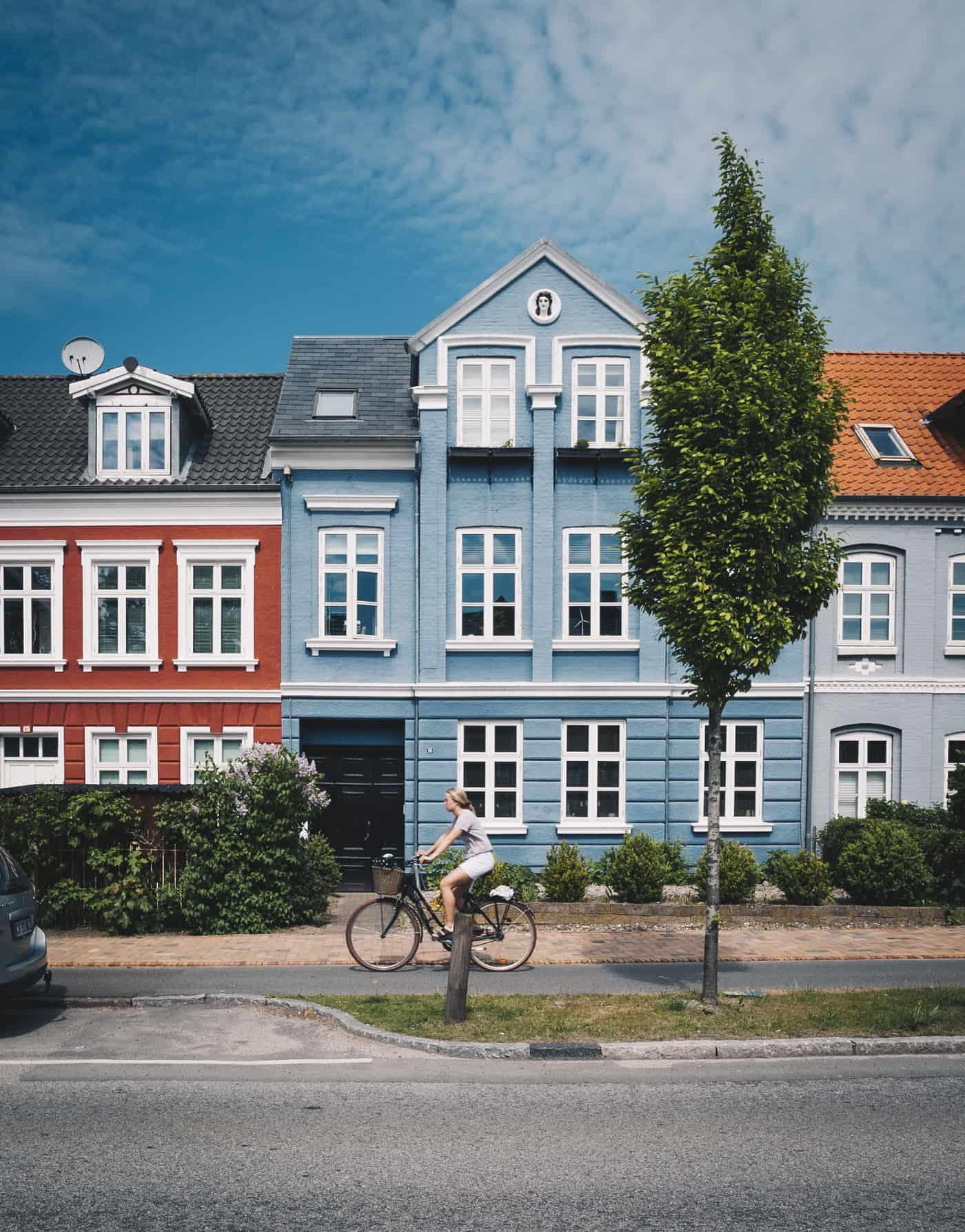 Häuserreihe Odense