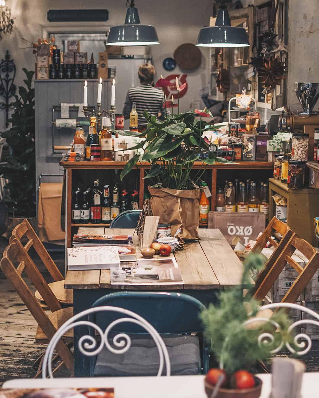 Ausflug nach Odense: Café Fleuri