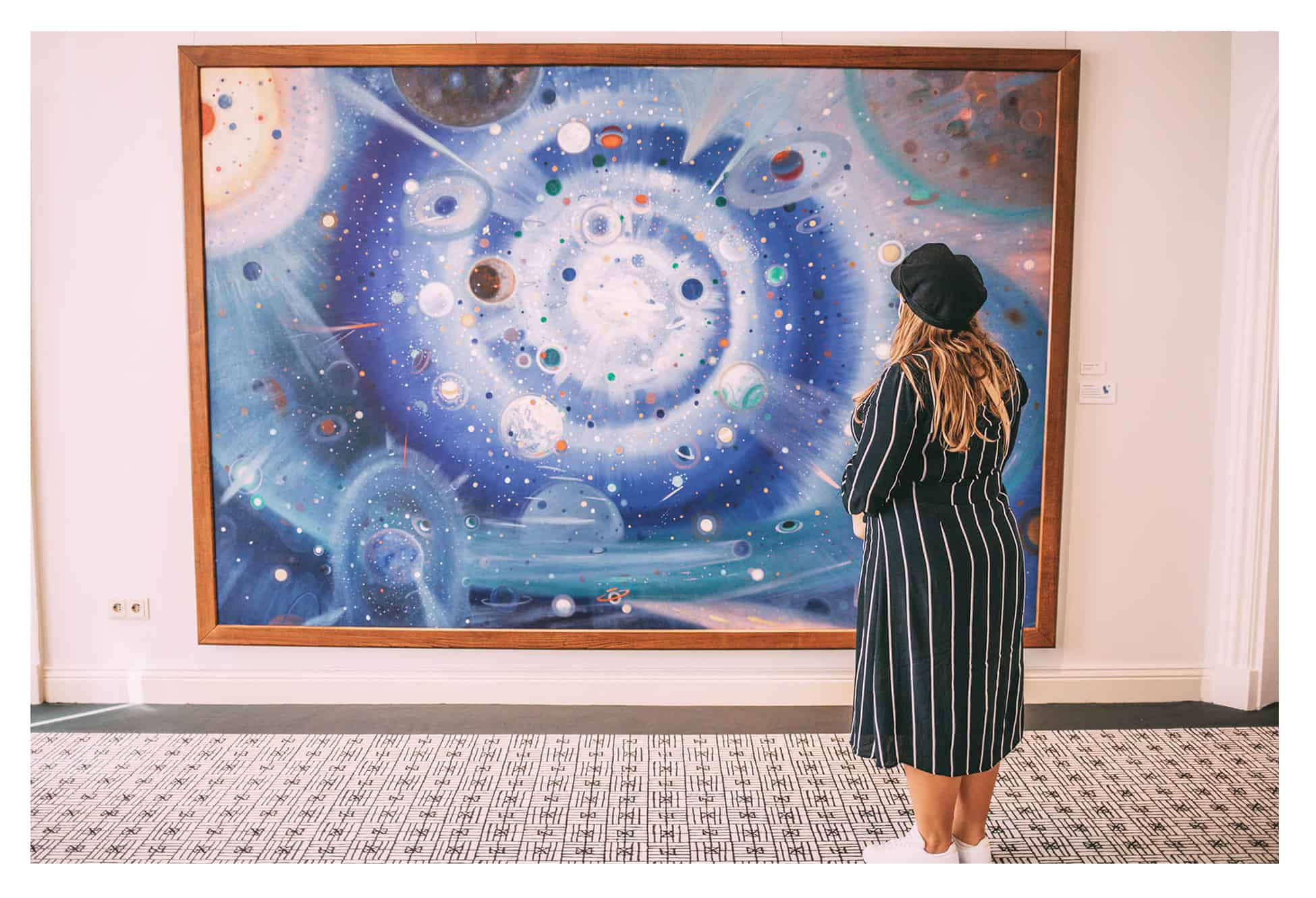Wenzel-Hablik Museum Planetenbild