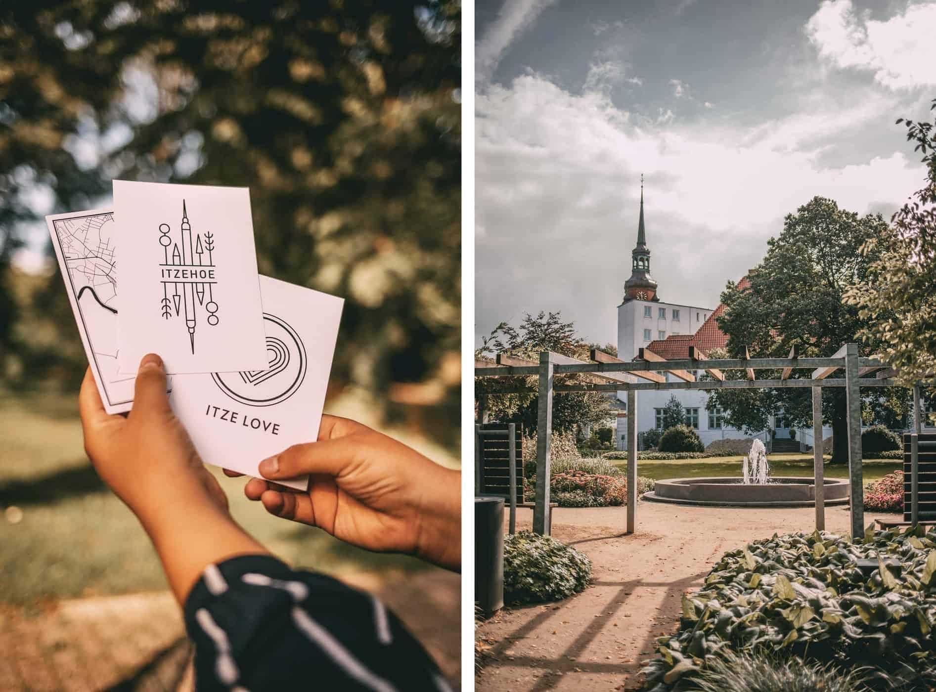 Tipps für Itzehoe: Postkarten und Prinzesshof