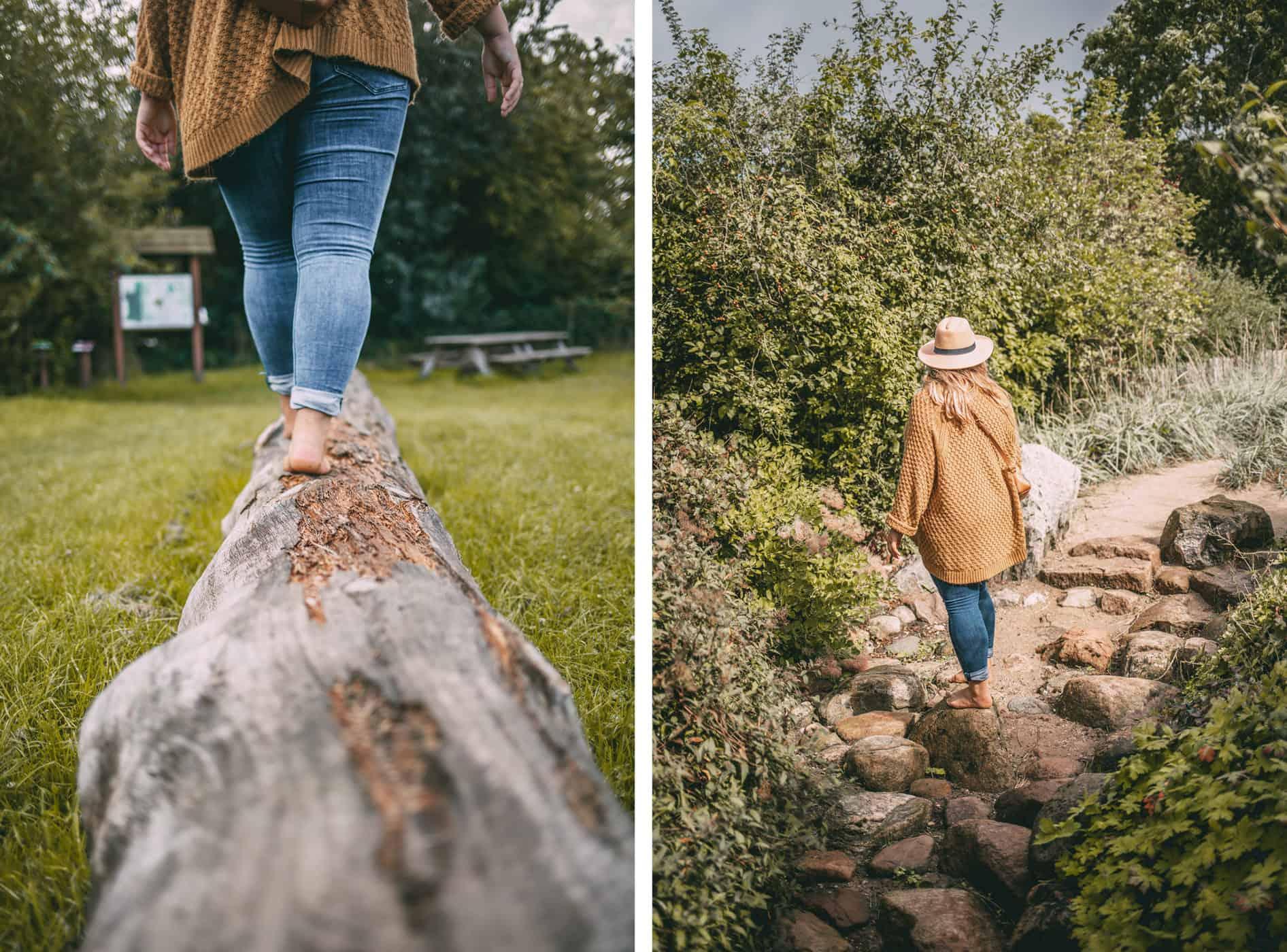 Herbst an der Schlei Tipps Herbstferien Schleswig-Holstein: Barfußpark
