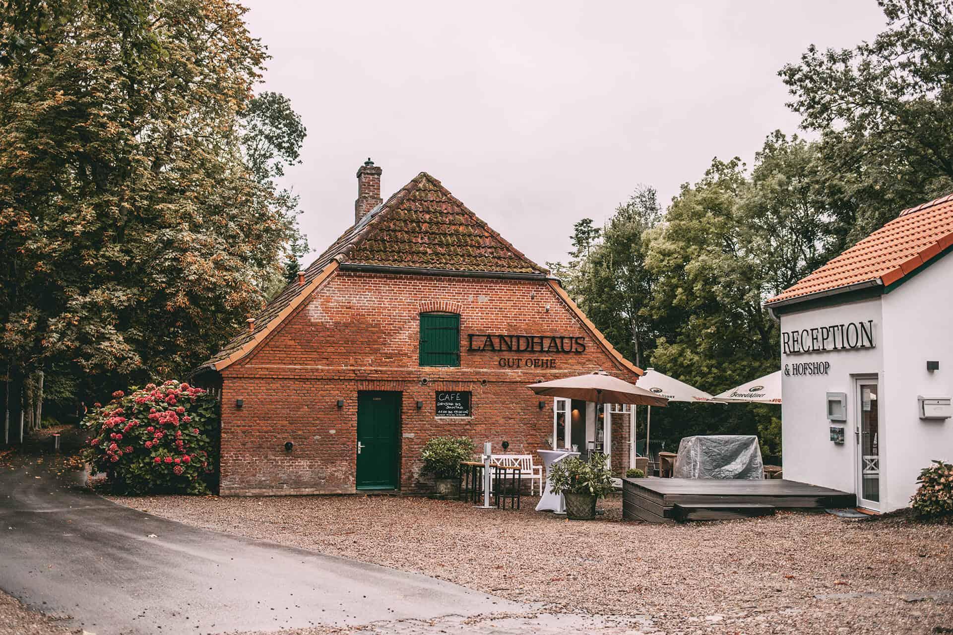 Herbst an der Schlei Tipps Herbstferien Schleswig-Holstein: Landhaus Gut Oehe