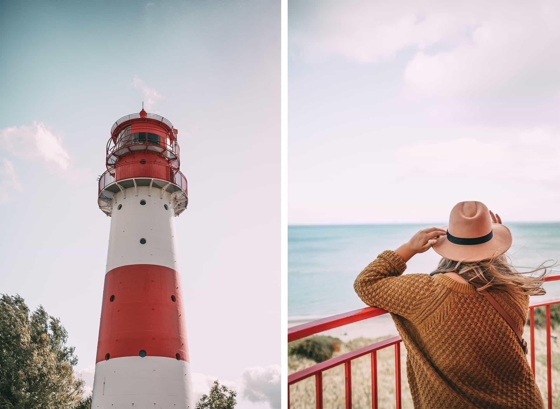 Herbst an der Schlei Tipps Herbstferien Schleswig-Holstein: Leuchtturm Falshöft