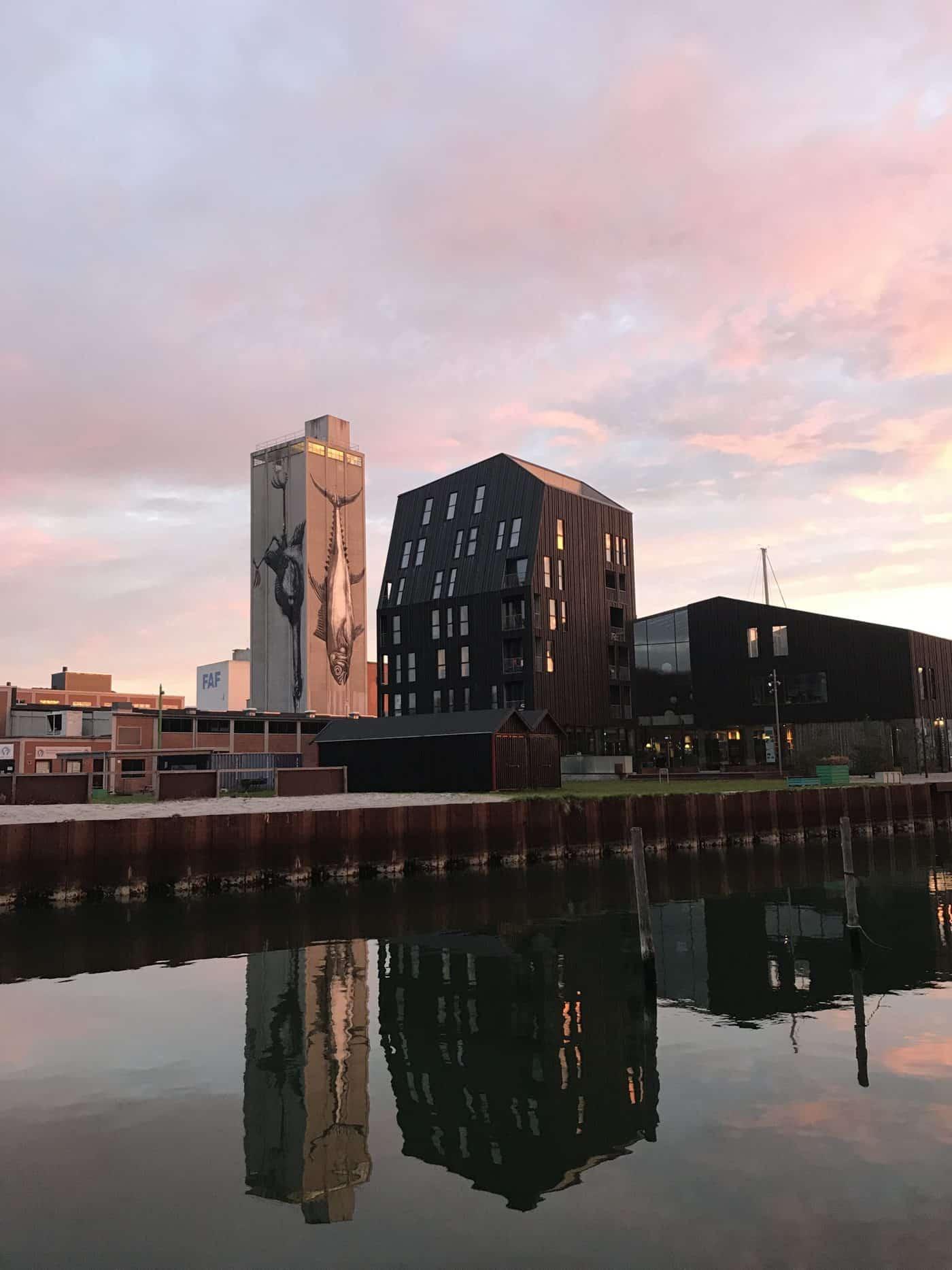 Ausflug nach Odense: Hafen