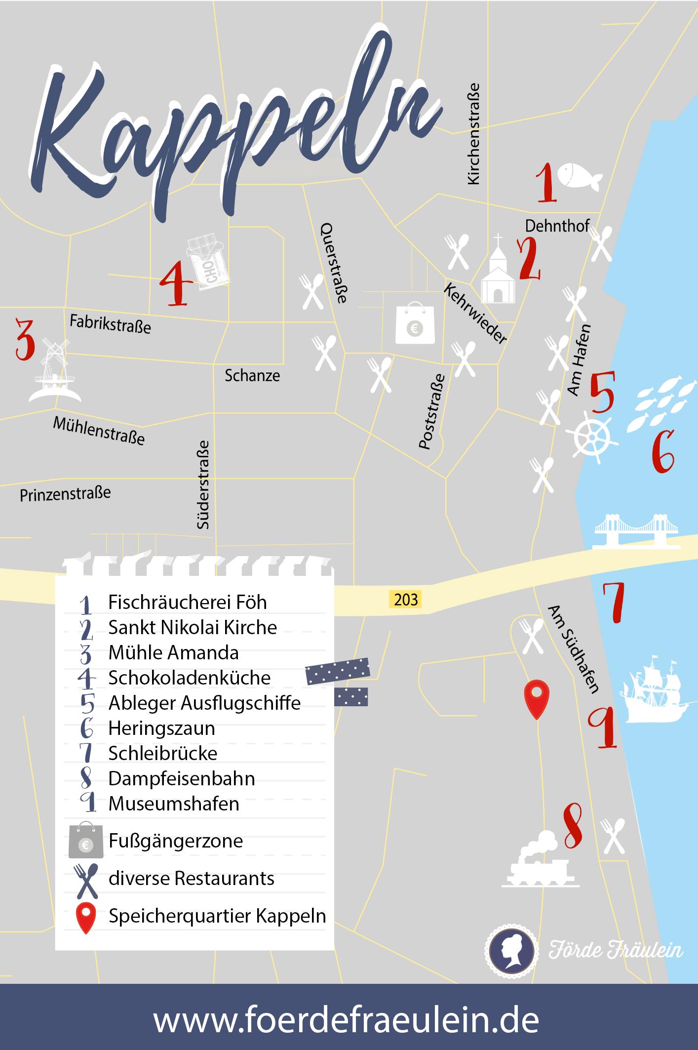 Kappeln Karte Adressen Tipps