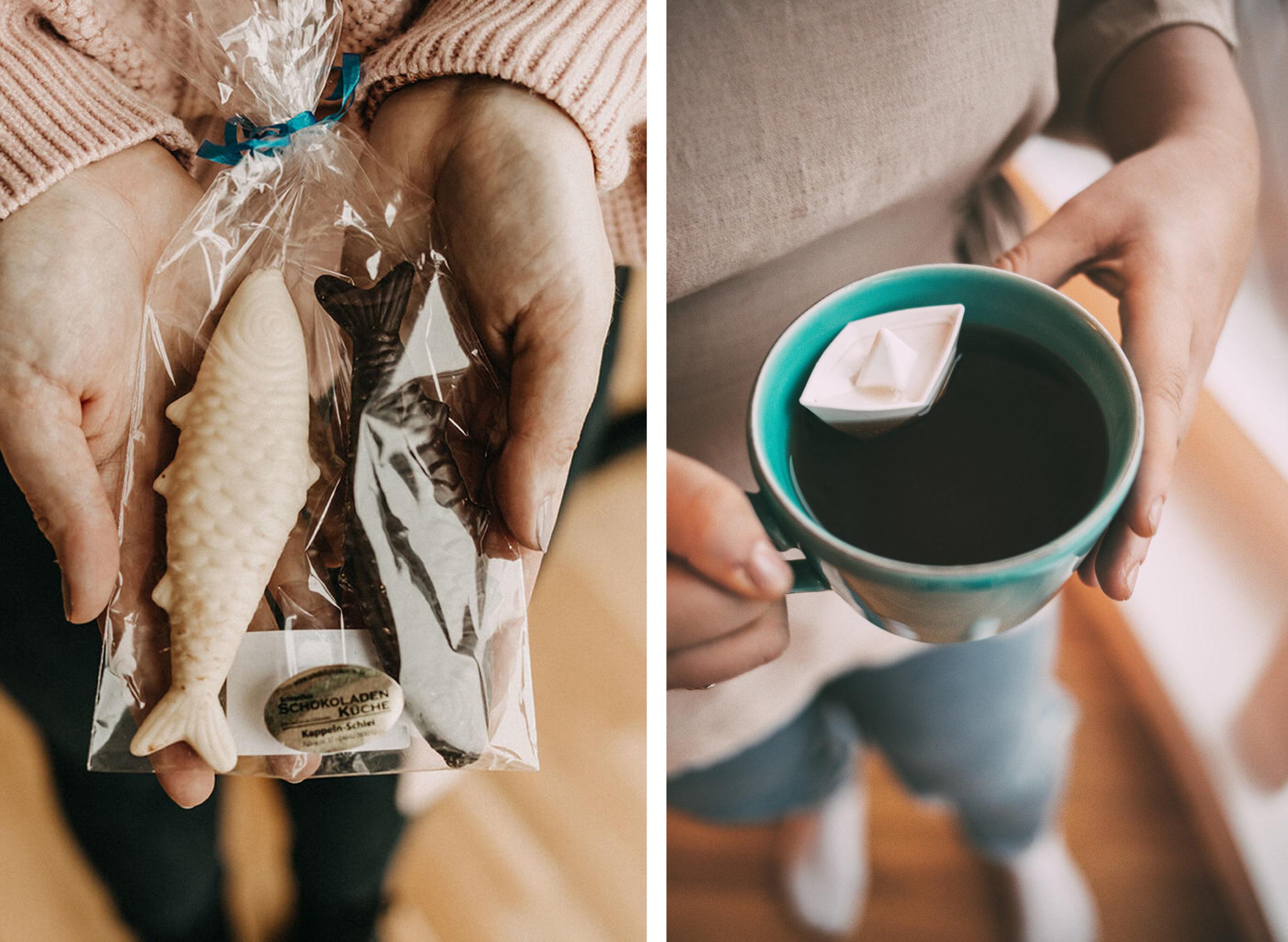 Schokolade und Tee