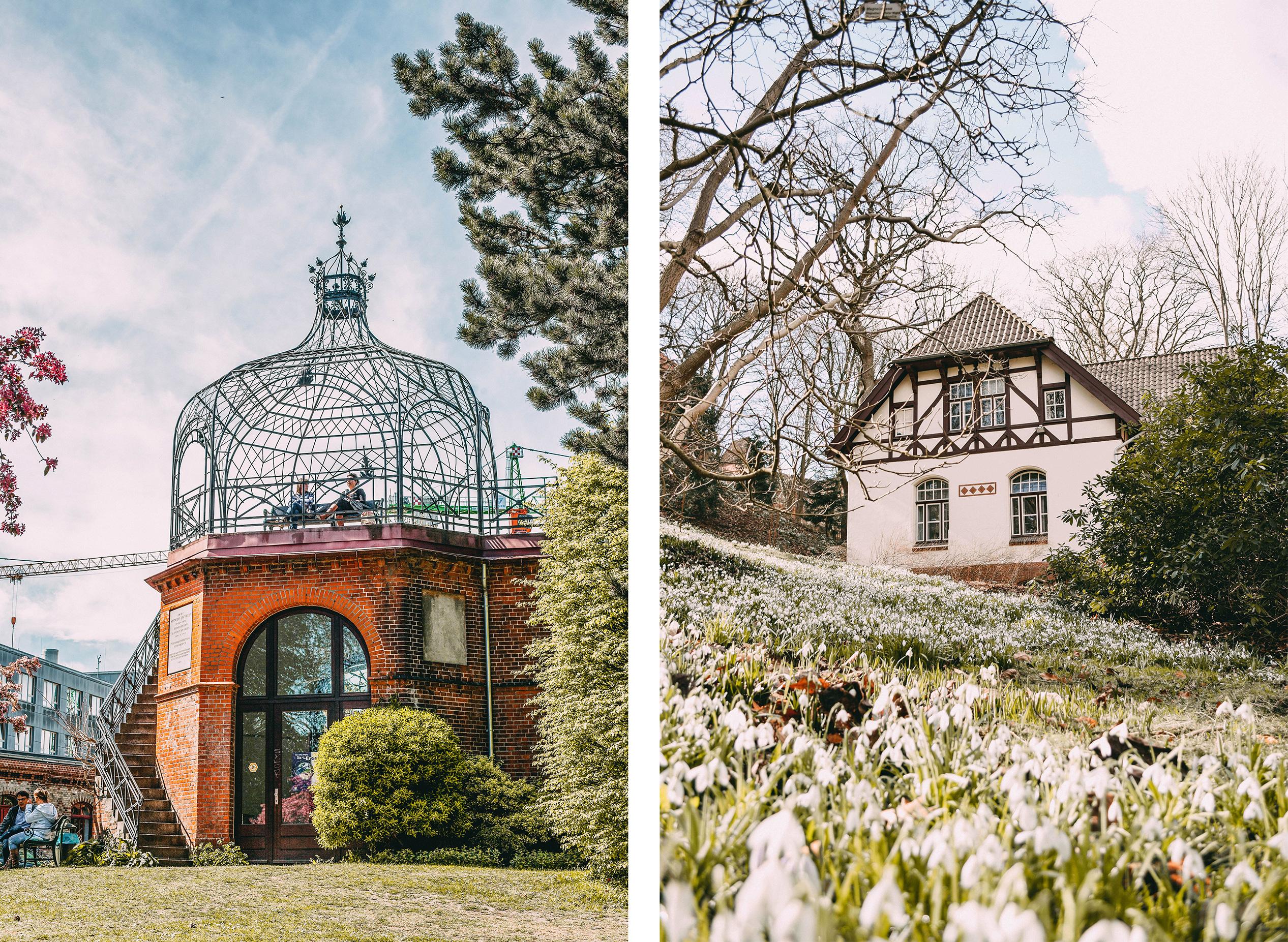 Alter Botanischer Garten Pavillon Literaturhaus