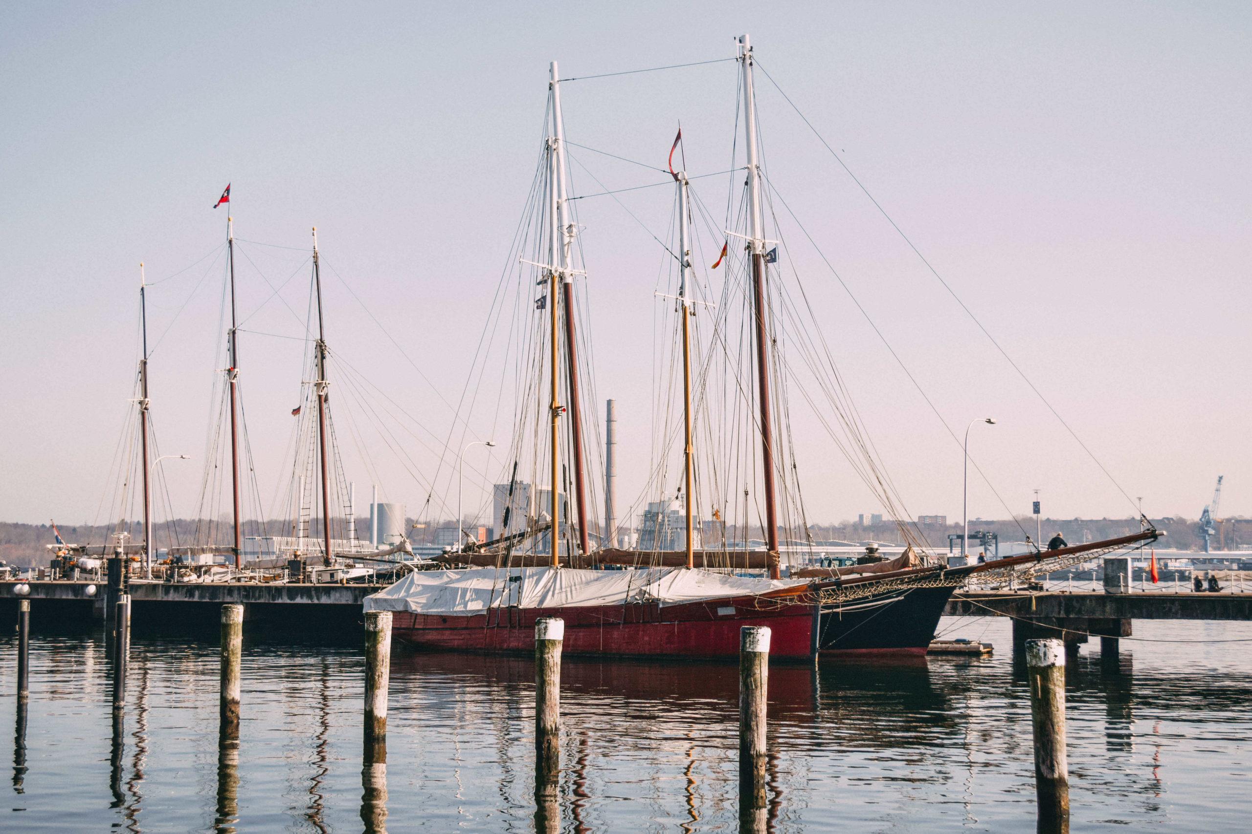 Kiellinie Schiffe