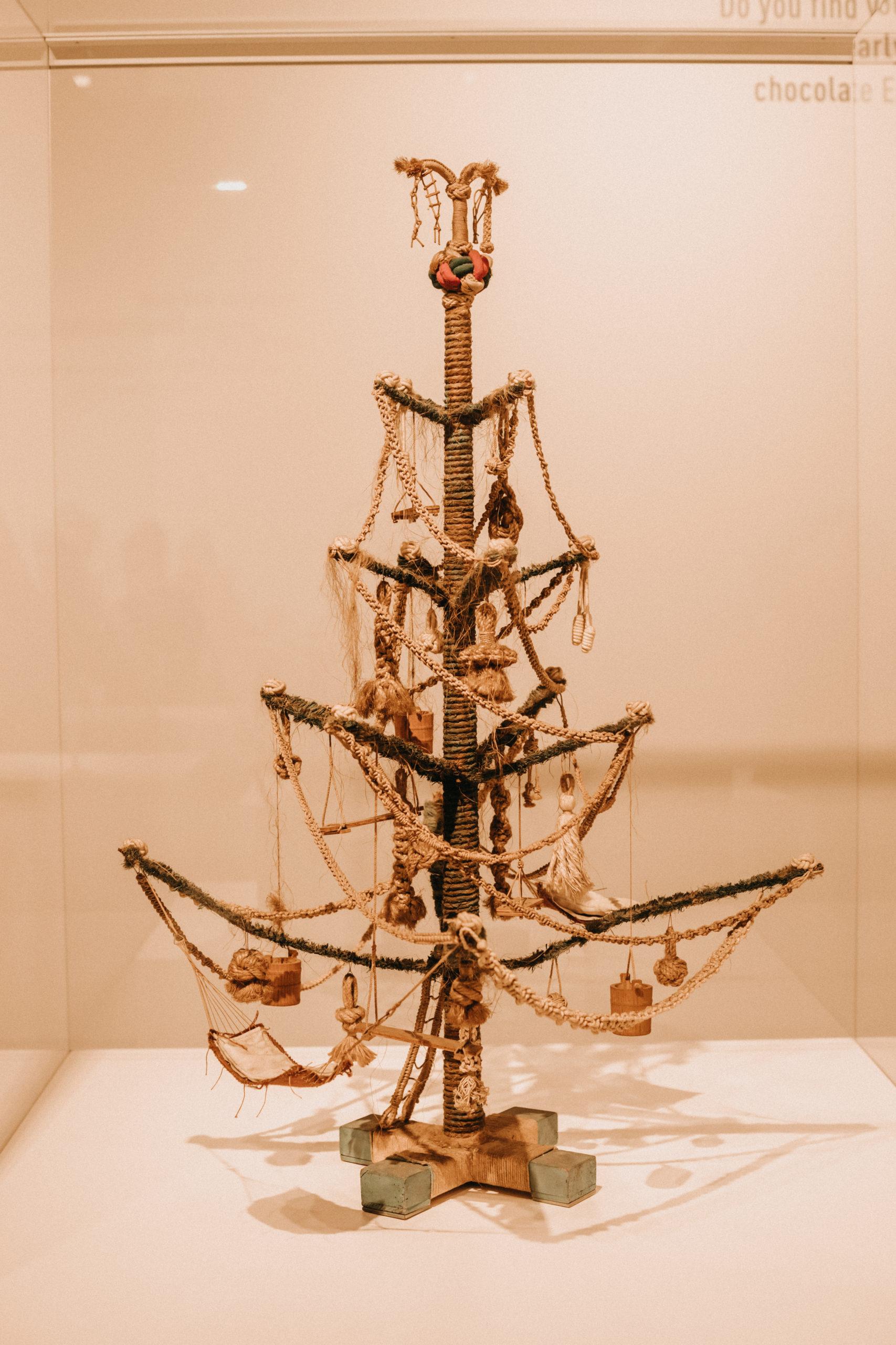 Jahr100Haus Molfsee: Weihnachtsbaum