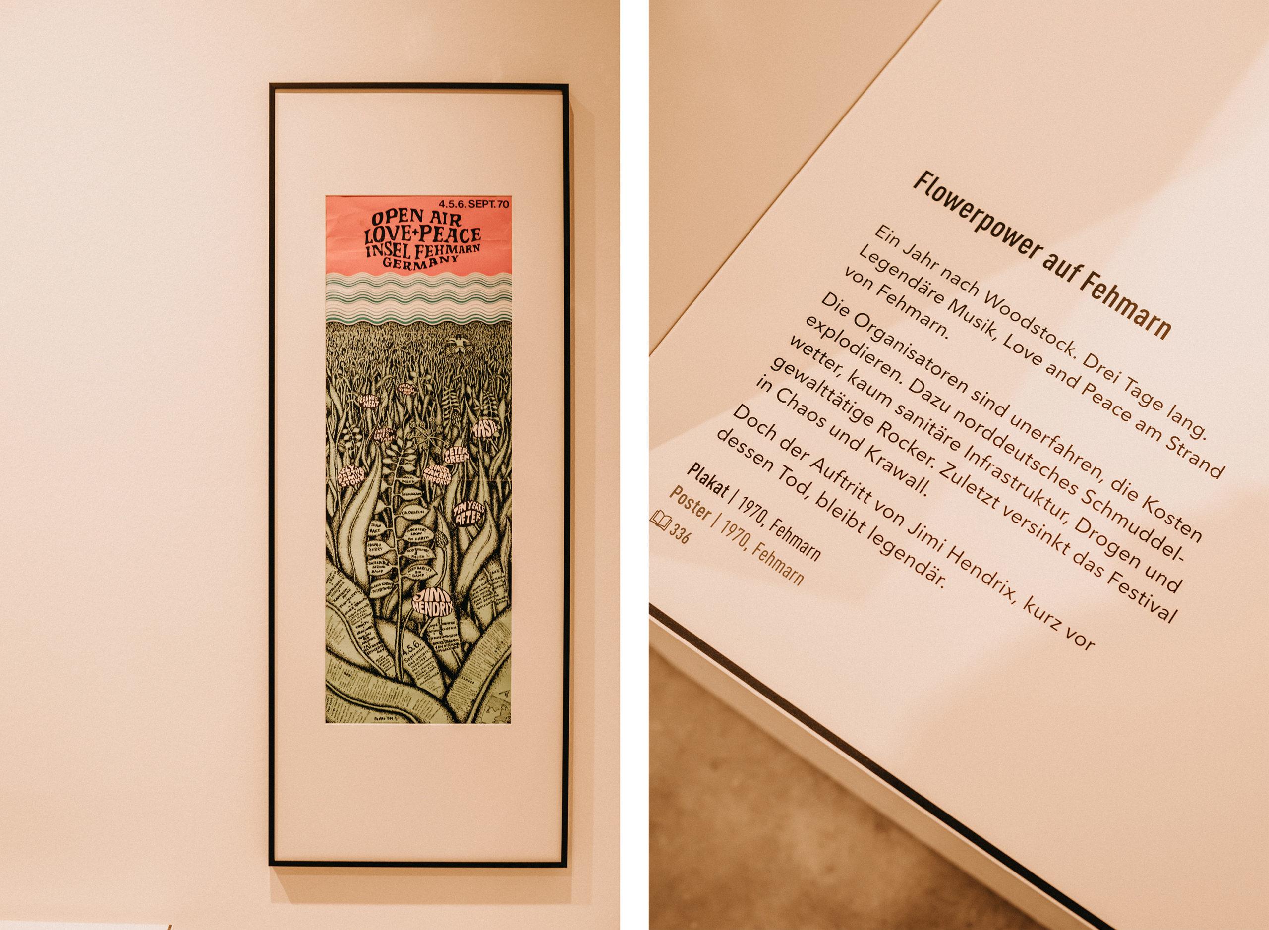 Jahr100Haus Molfsee: Plakat mit Text