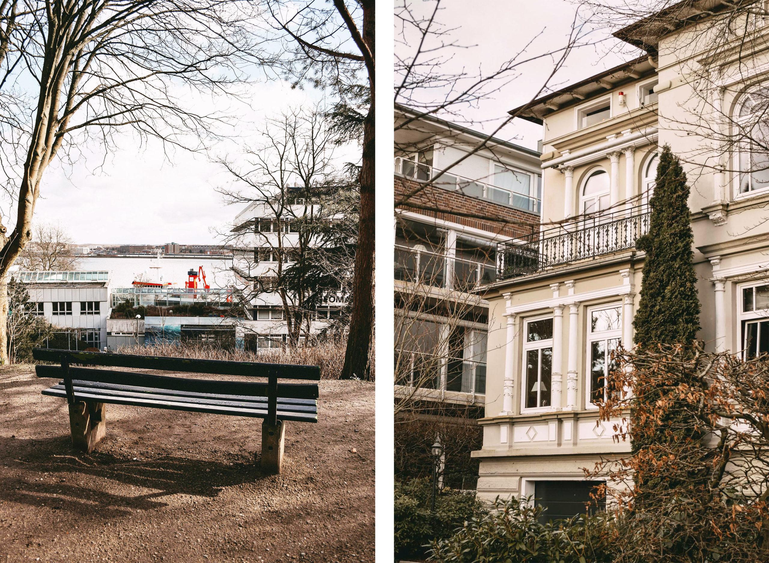 Aussicht Alter Botanischer Garten Villa