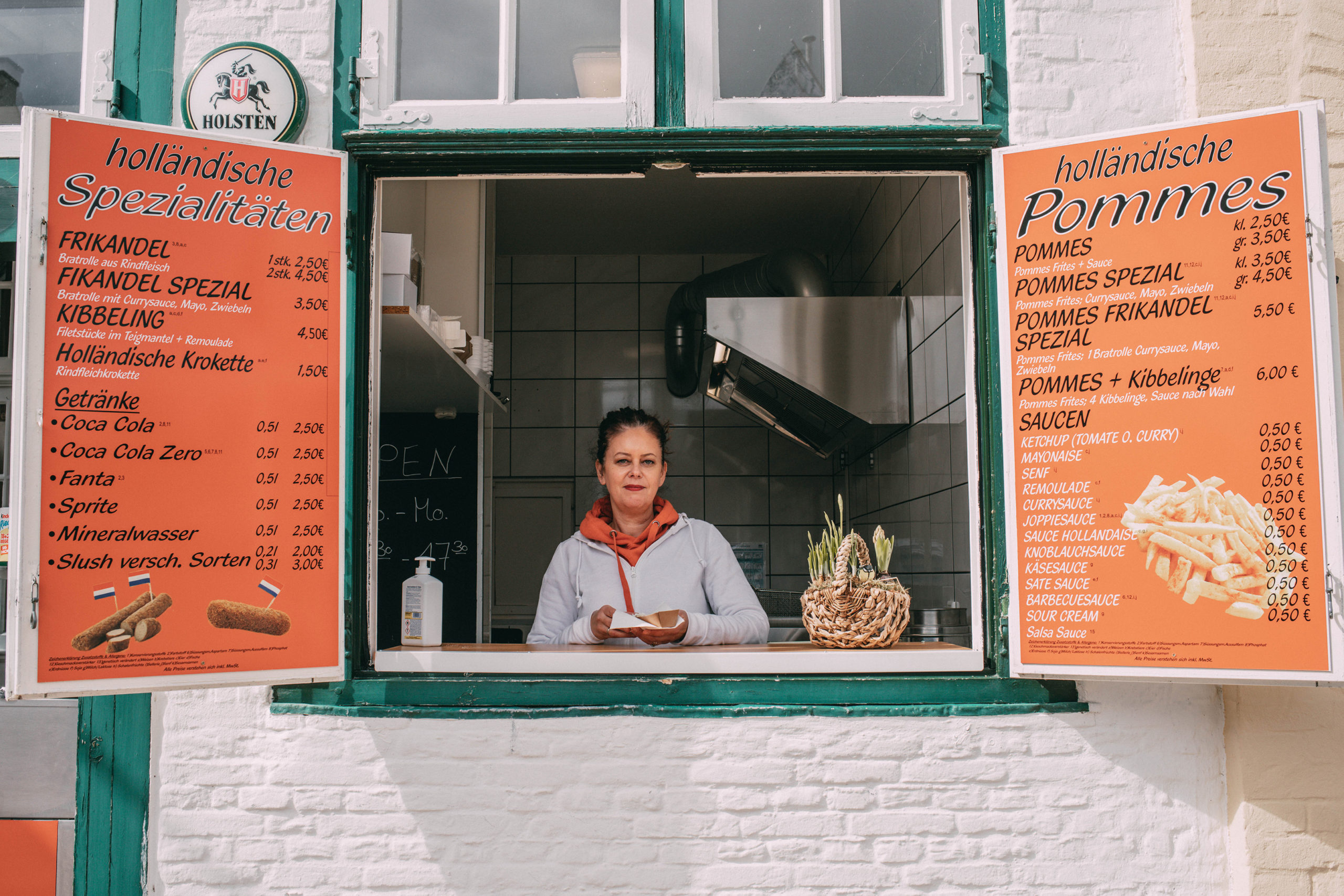 Imbiss Holländische Spezialitäten