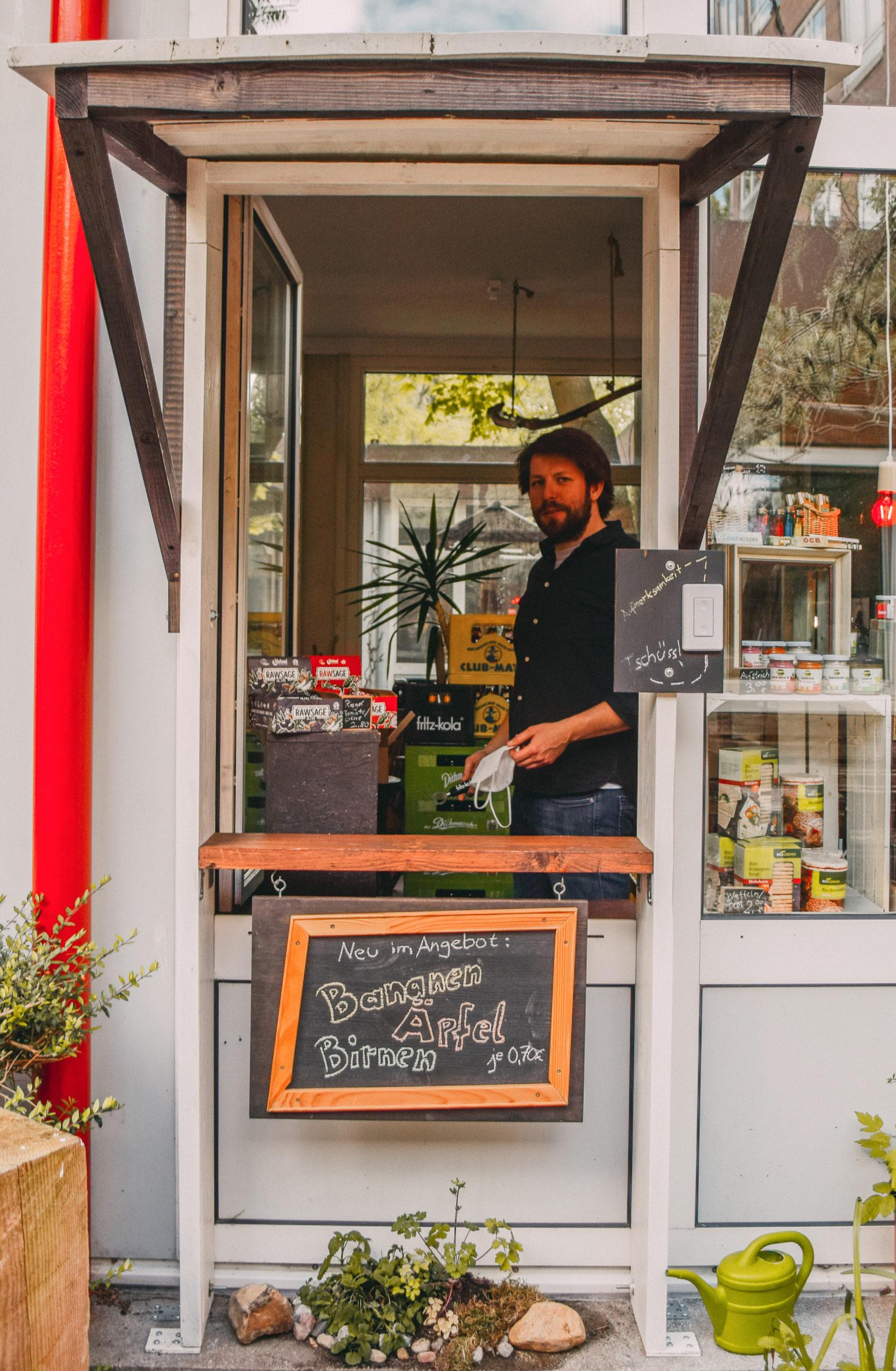 "Michal im Kiosk ""Siebeneck"""