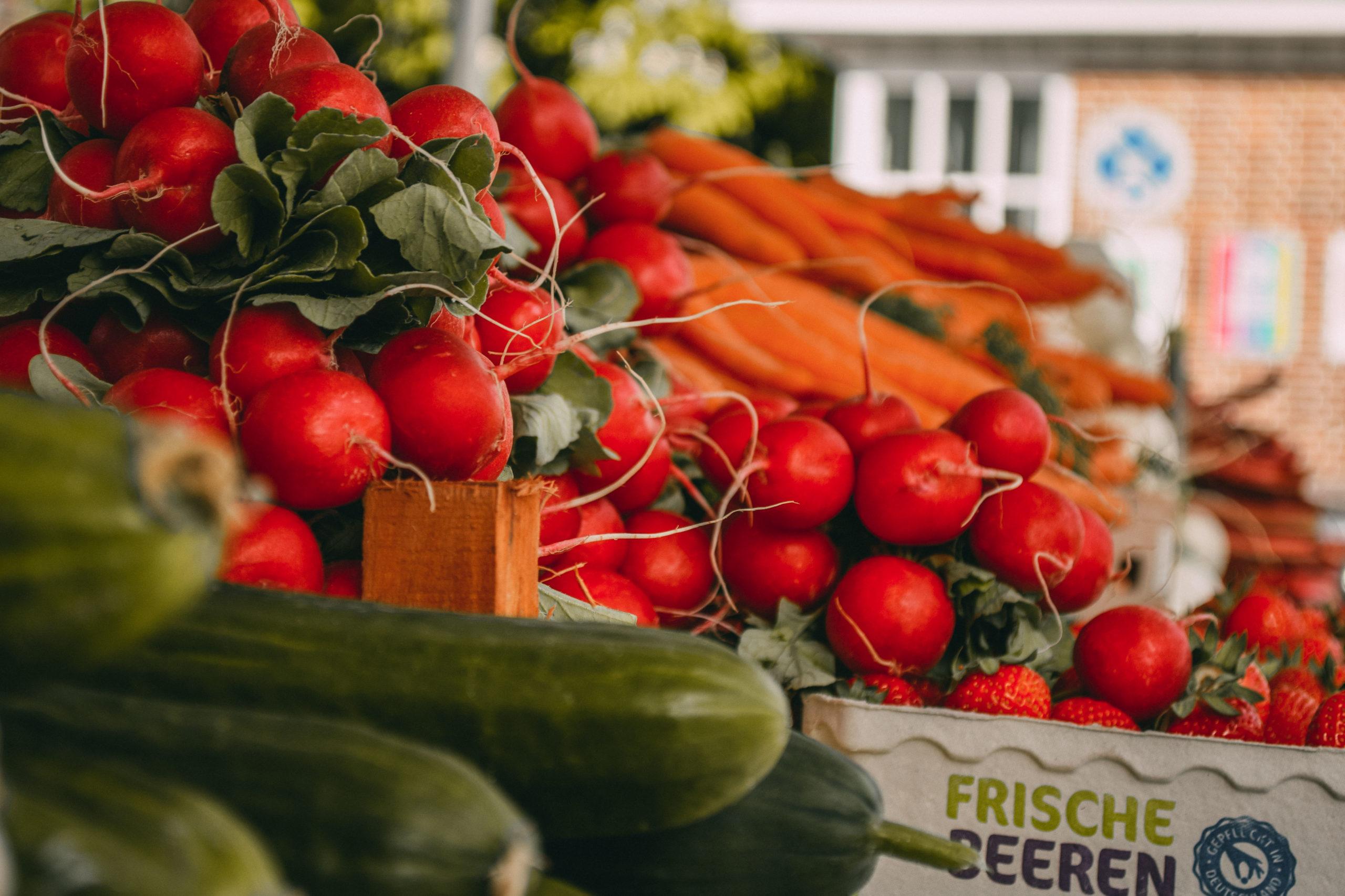 Obst-und Gemüse-Stand