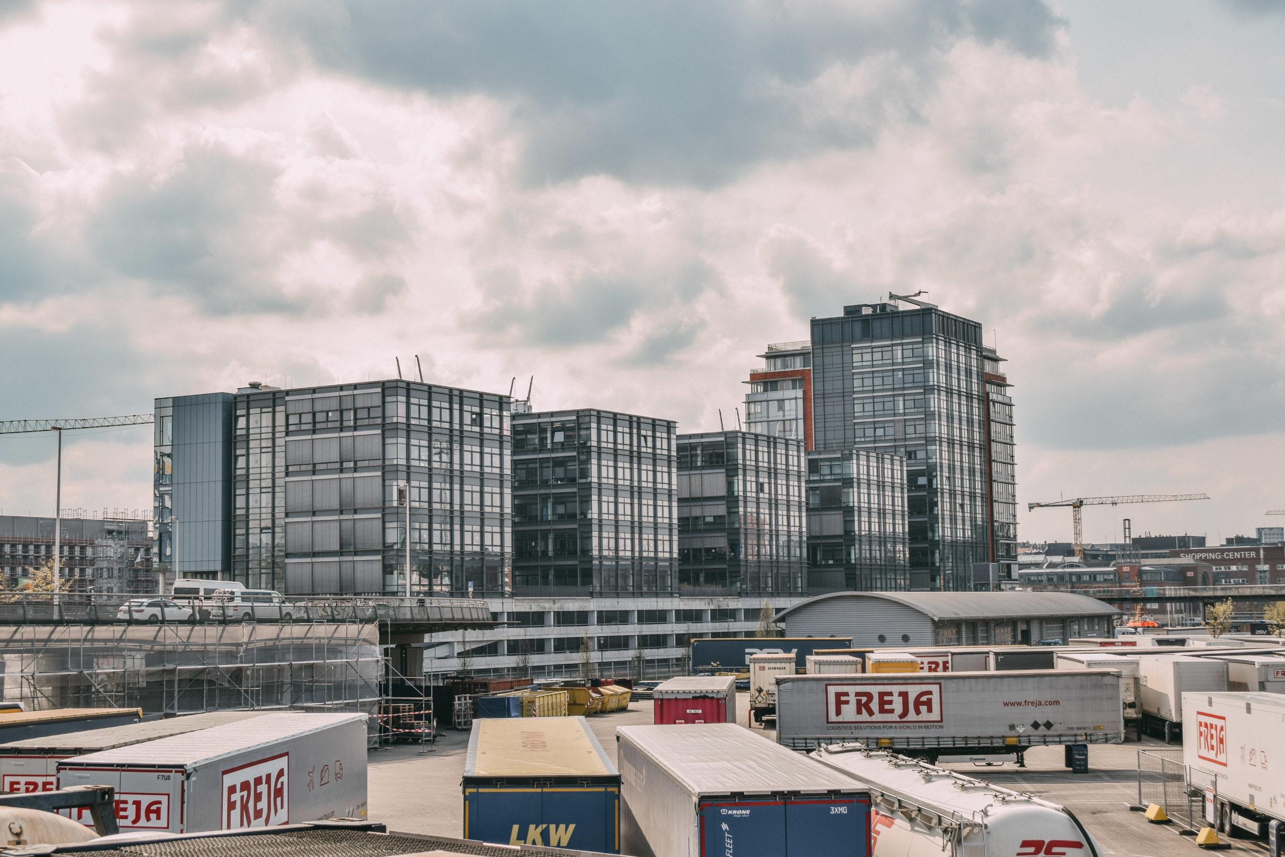 Hochhauskomplex