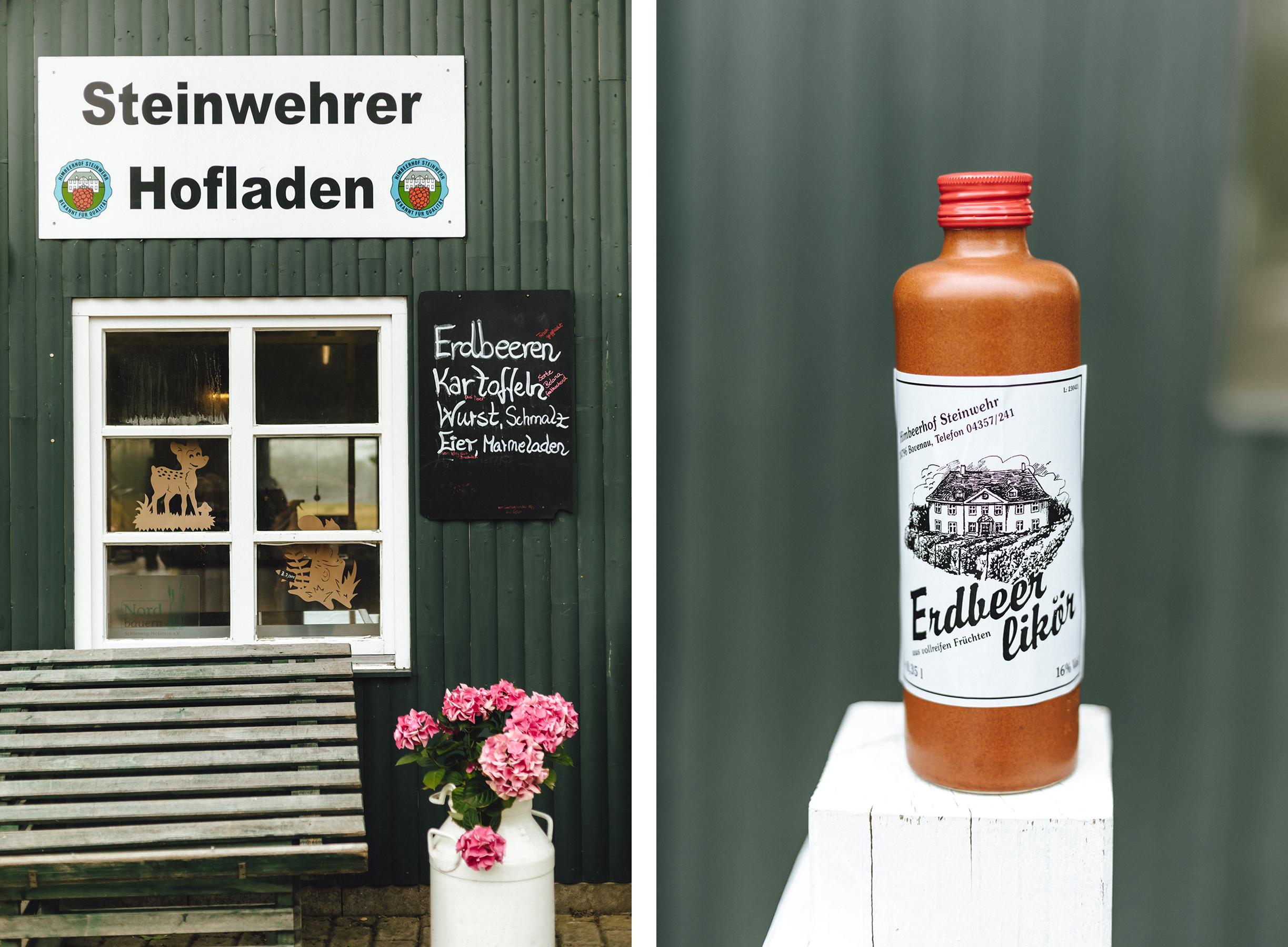 Erdbeer- und Himbeerhof Gut Steinwehr: Hofladen