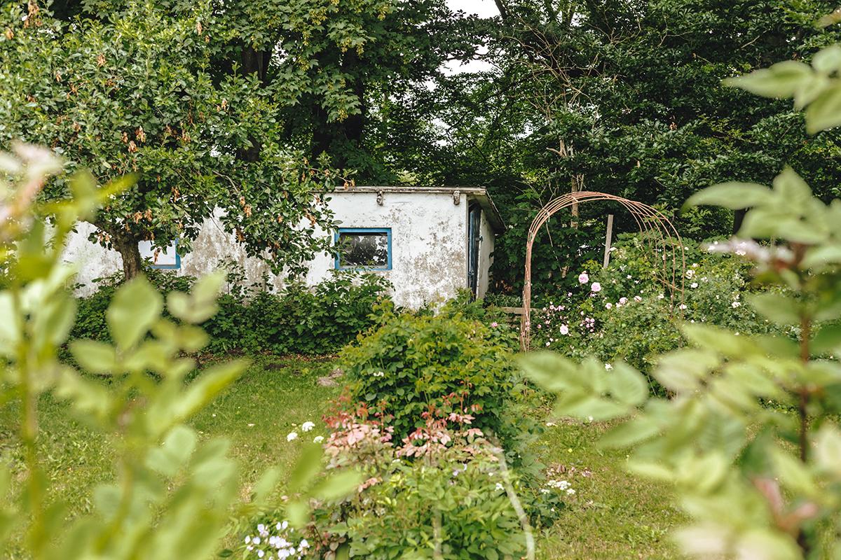 Erdbeer- und Himbeerhof Gut Steinwehr: Garten