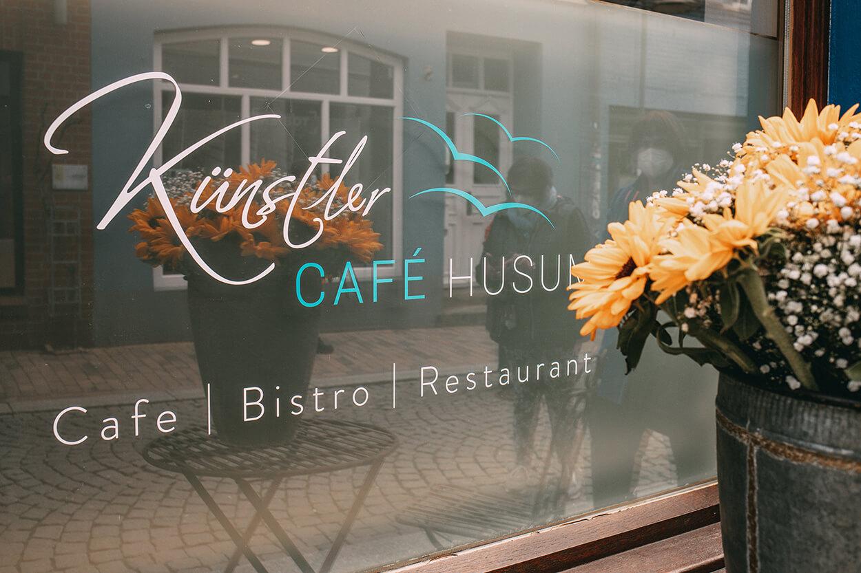 Logo Künstlercafé Husum