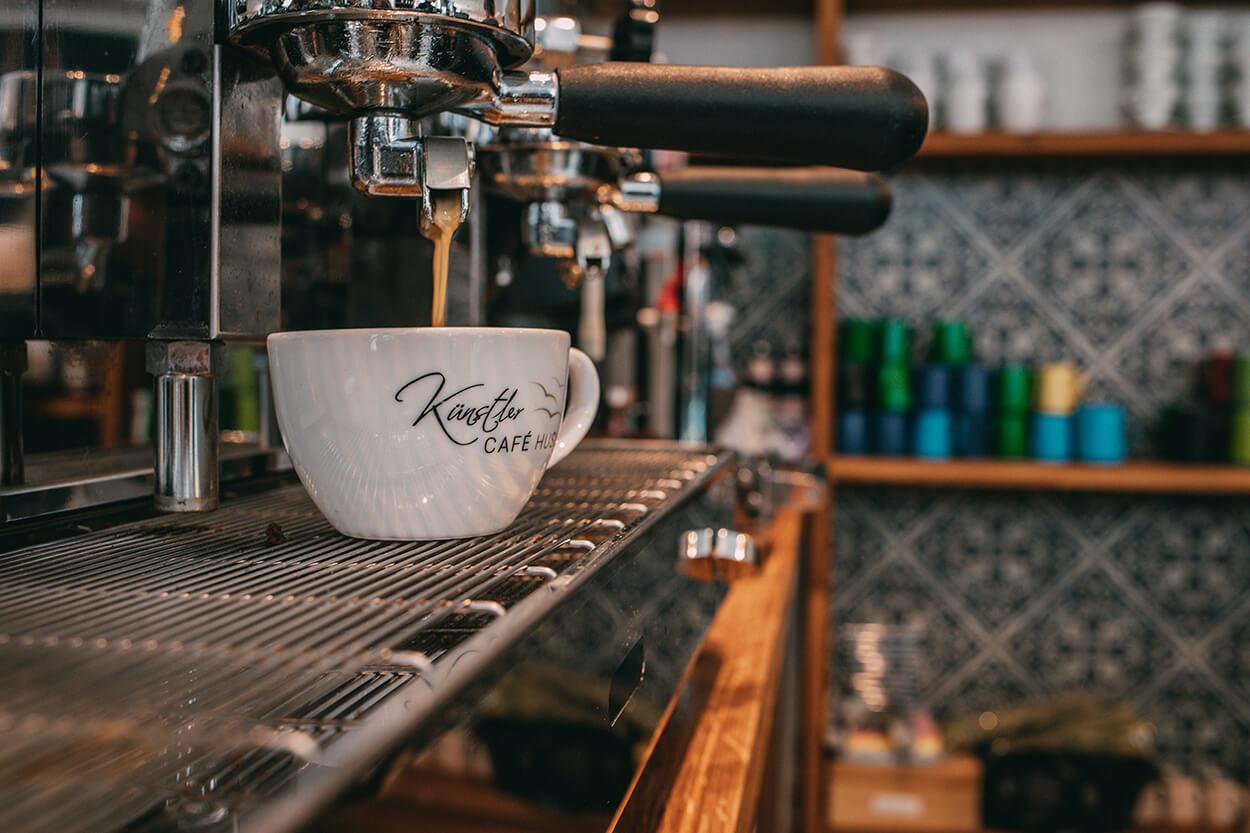 Kaffee Künstlercafé Husum