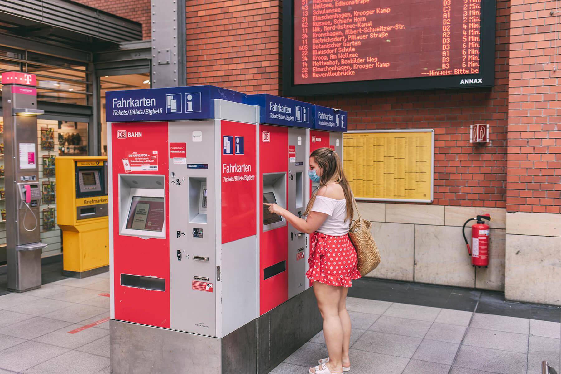 Gleis & Meer: Fahrkartenautomat