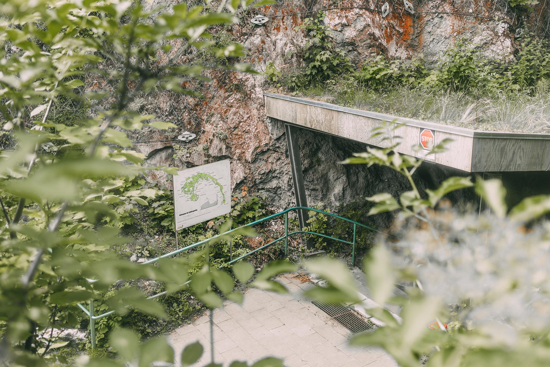Höhleneingang Bad Segeberg