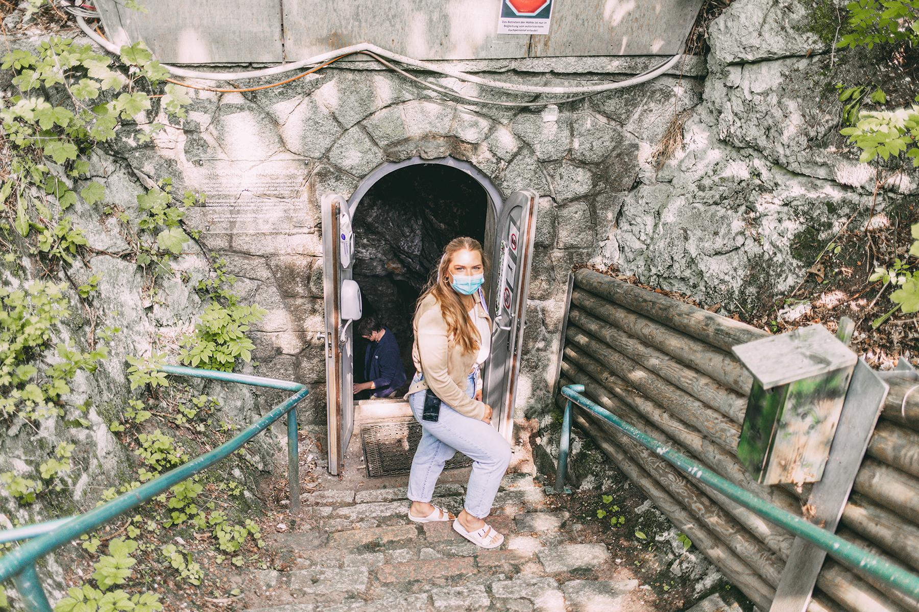 Zugang zur Höhle Noctalis Bad Segeberg