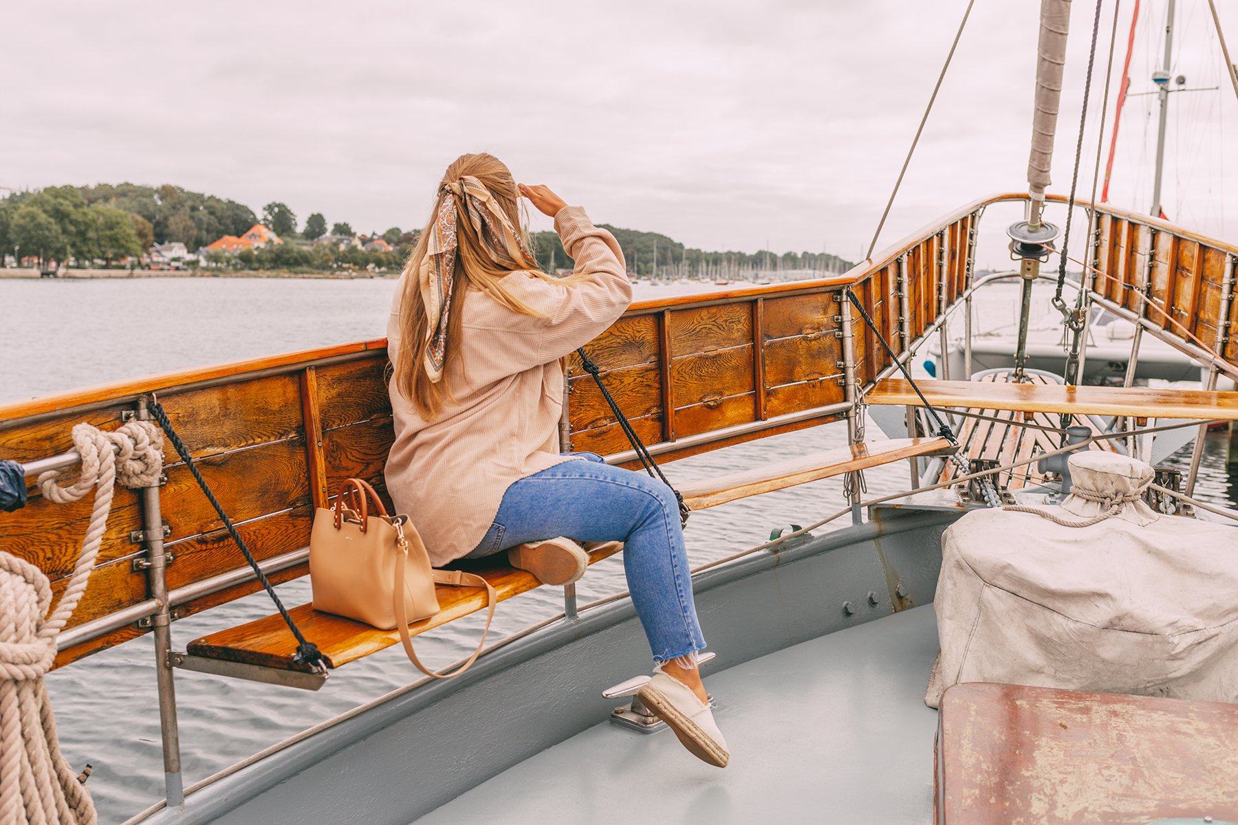 Eckernförde Tipps: Sina an Bord der Tu Solo Tu