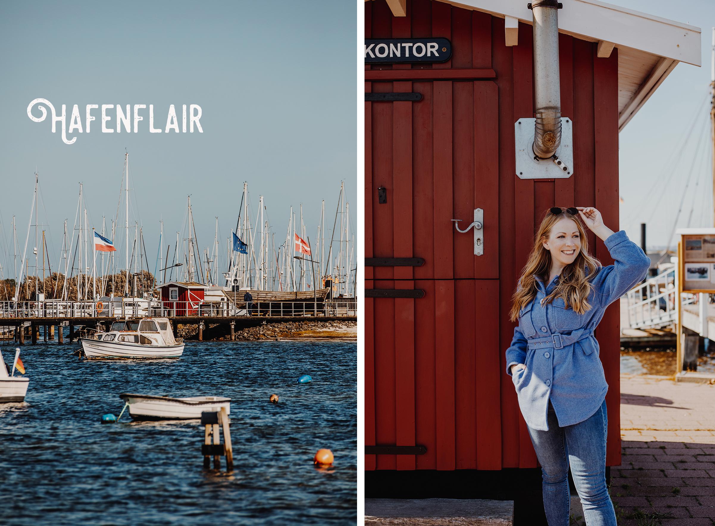 Auf dem Ostseeküsten-Radweg von Laboe nach Hohwacht: Marina Wendtorf