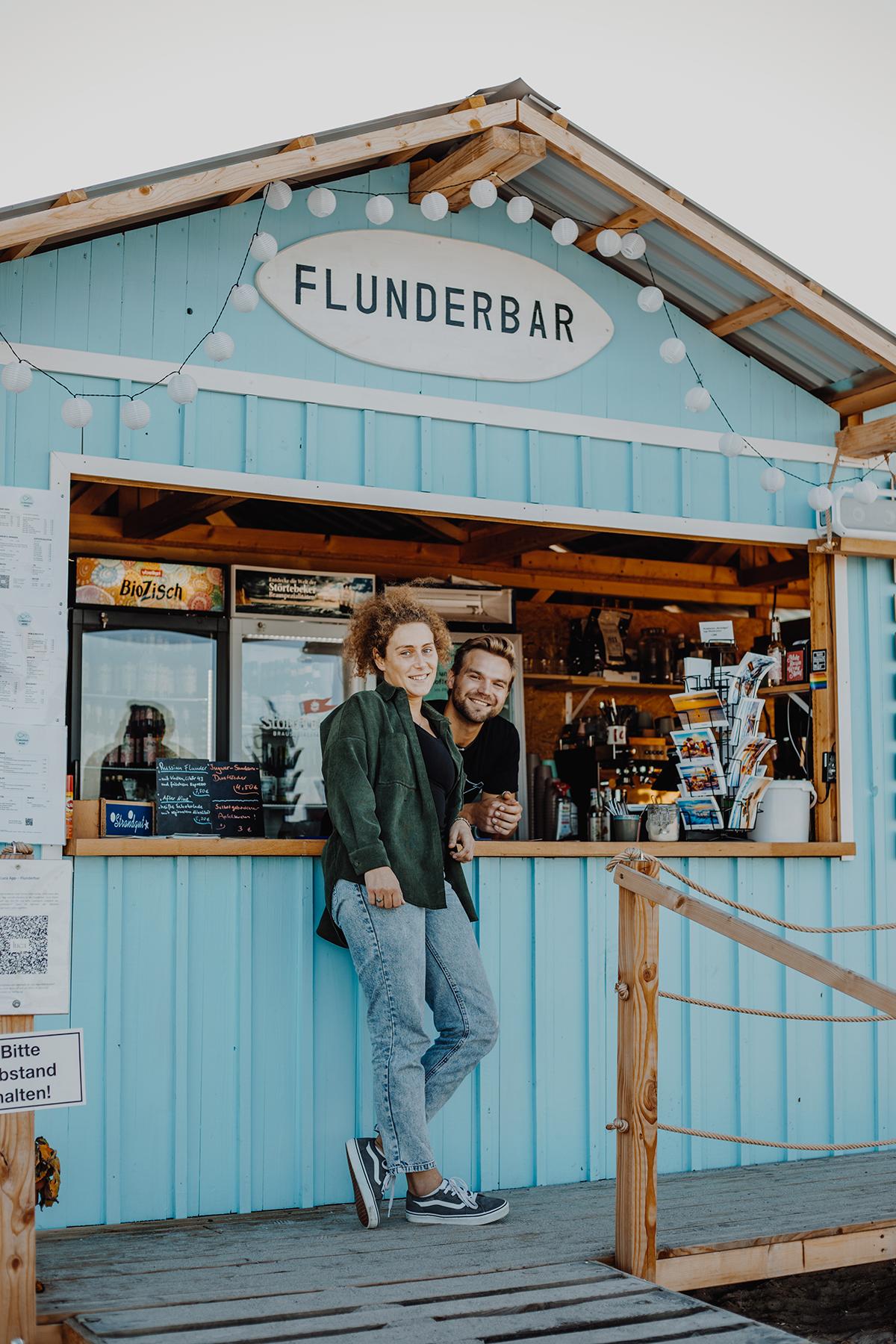 Auf dem Ostseeküsten-Radweg von Laboe nach Hohwacht: Flunderbar