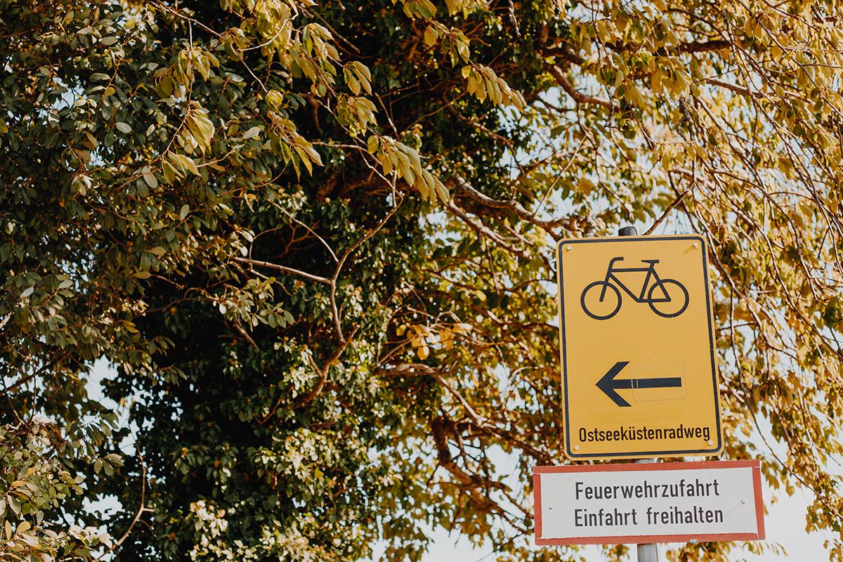 Auf dem Ostseeküsten-Radweg von Laboe nach Hohwacht